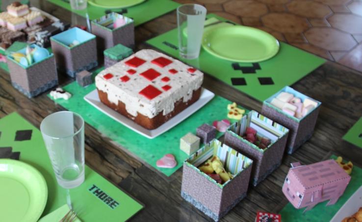 minecraft kuchen gabriela kaiser. Black Bedroom Furniture Sets. Home Design Ideas